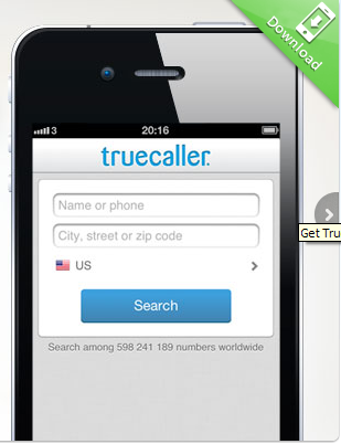 Get Caller ID for Unkown number across the World: TrueCaller-World