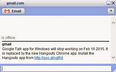 Google Hangouts Stopped Working